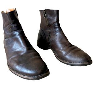 Brown Leather Chelsea Boots by Fiorentini Baker